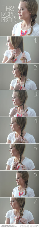 How to Pull Off a Flawless Rope Braid [A Tutorial]