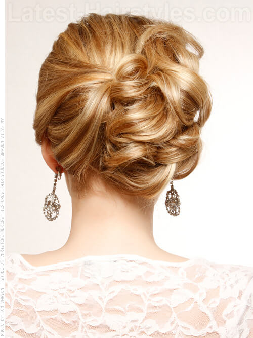 Bridal Perfection Hair Idea Back View