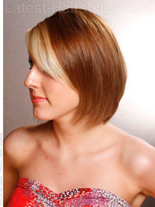 bob hair fringe 2