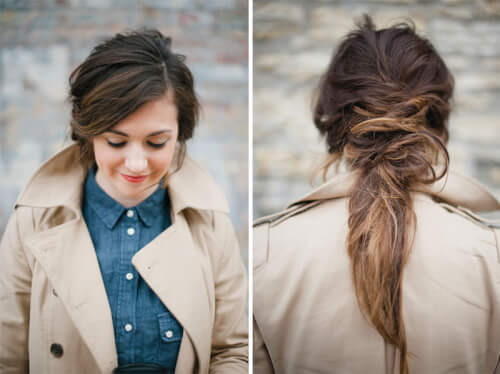 bed head messy hairstyles