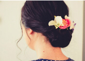 floral inspired hairstyles