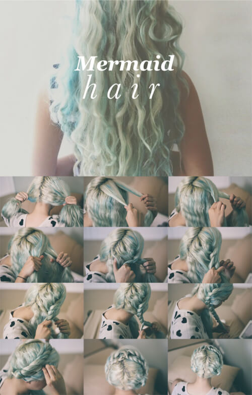 mermaid mythical hairstyles