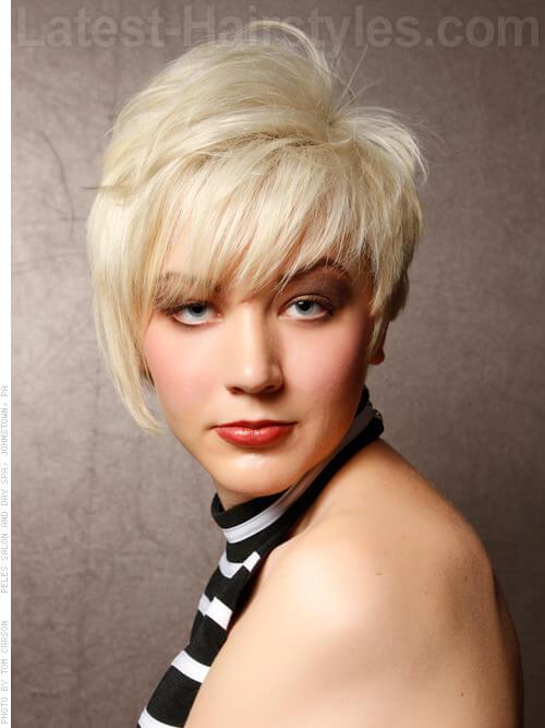 modern platinum blonde style