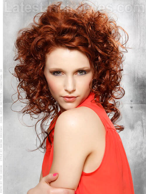 Round Medium Length Layered Hair