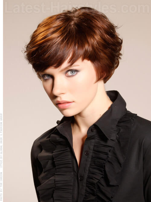 Short Chic Layers Cute Cut Side View