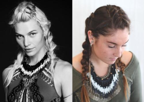 unicorn mythical hairstyles