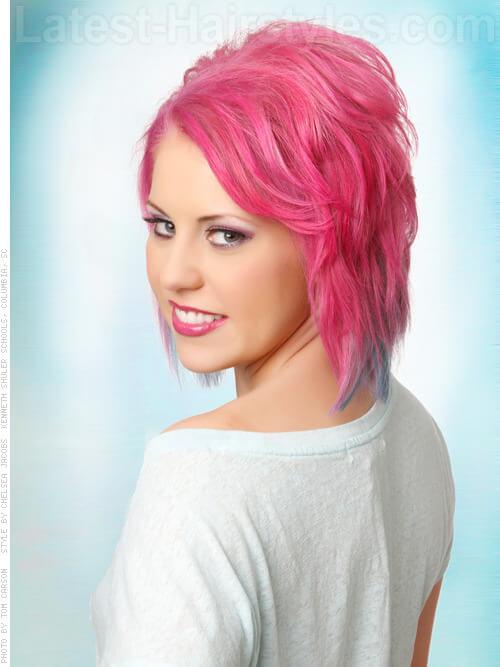 Volume Layers Fun Pink Style