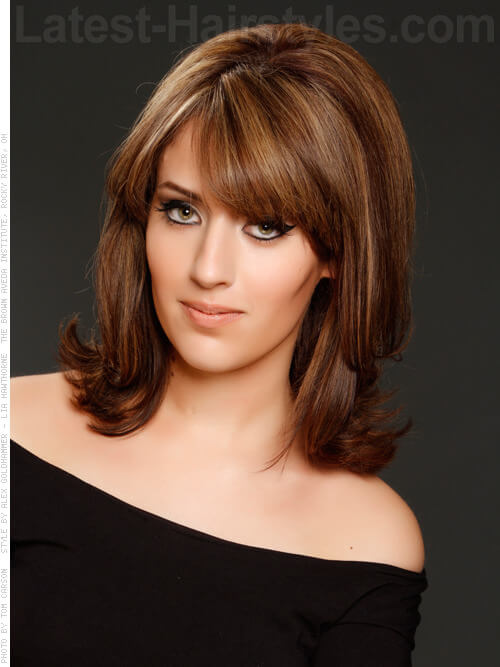 Volumized Vixen Short Style for Medium Hair