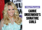 carrie underwood curly hair