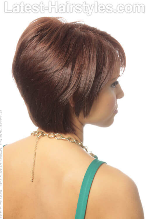 Short Tapered Hairstyle with Volume Side