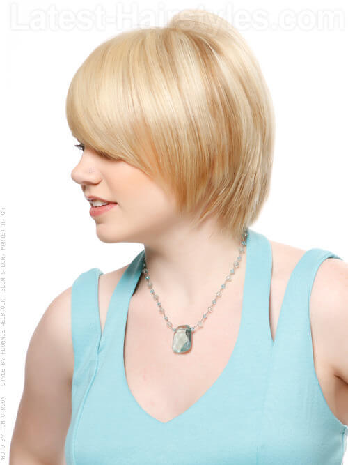 how to cut a side fringe professionally