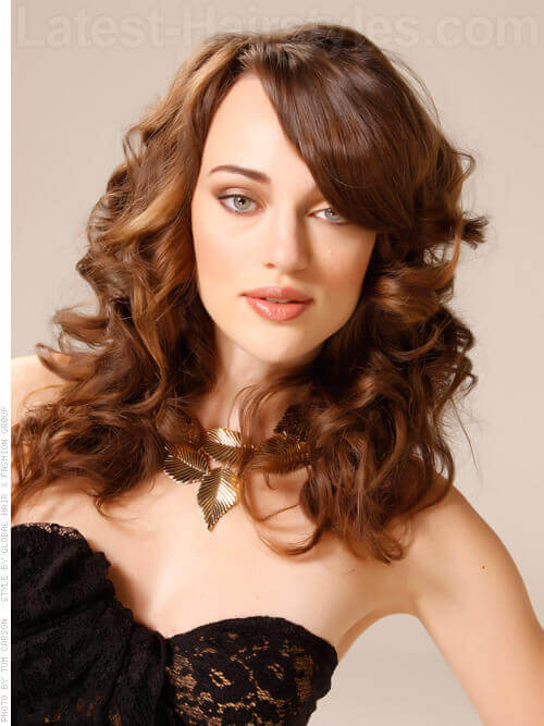Voluminous Beauty Full Style with Side Fringe