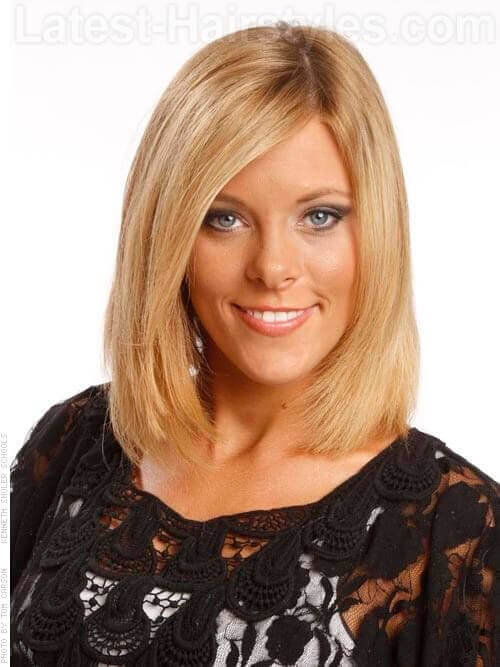 Caramel Brush Honey Blonde Bob
