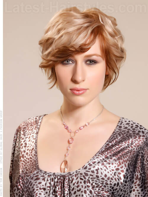 Curl Crush Short Tousled Blonde Waves