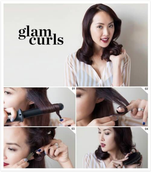 roaring 20s hair pin curls