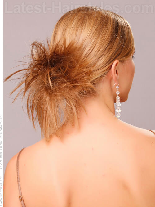 Multi Honey Blonde Maven Back Sprayed Ponytail