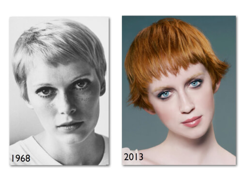 Perfect Pixie Vintage Hairstyle Mia Farrow