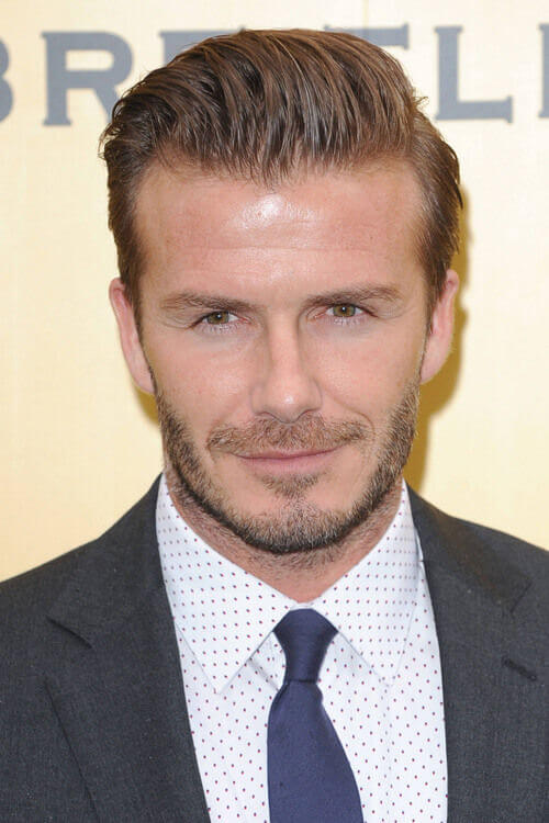 The Beckham Breitling Men's Short Hairstyles