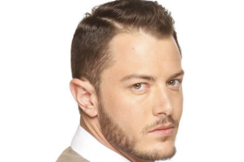 Classic Short Hairstyle for Men Side