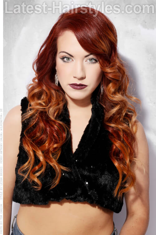 Hot Hair Alert New Hair Colors For Fall Pics And