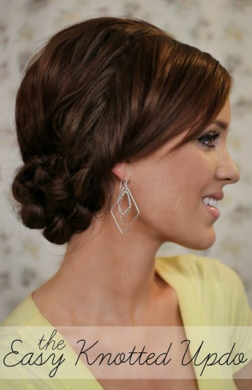Tremendous Deceptive Bun Hairstyles 10 Easier Than They Look Buns Hairstyles For Women Draintrainus