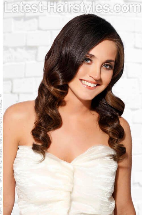 Long Hairstyle with Soft Waves