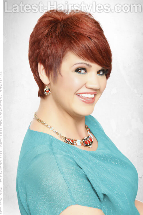Super 25 Short Hairstyles For Round Faces You Can Rock Short Hairstyles Gunalazisus