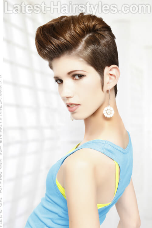 Pleasant 25 Short Hairstyles For Round Faces You Can Rock Short Hairstyles Gunalazisus