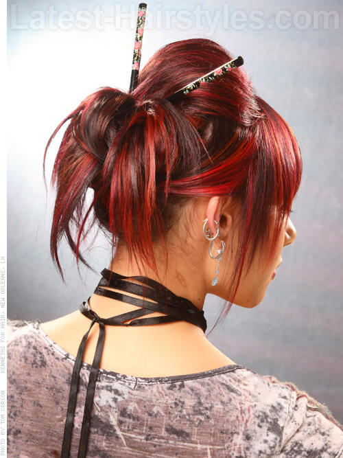 Bright and Center Bright Red Highlights