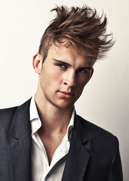 Flared Fringe Cool Look for a Man