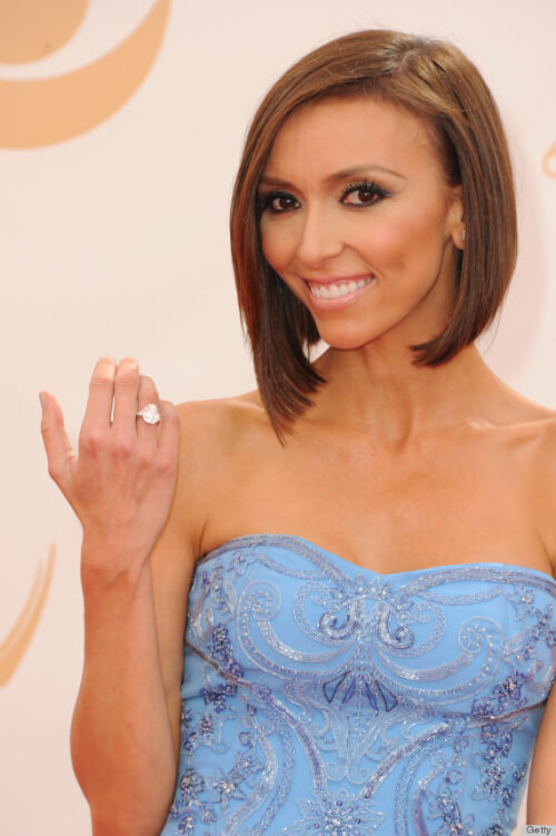 Giuliana Rancic's 2013 Emmy Awards Hairstyle