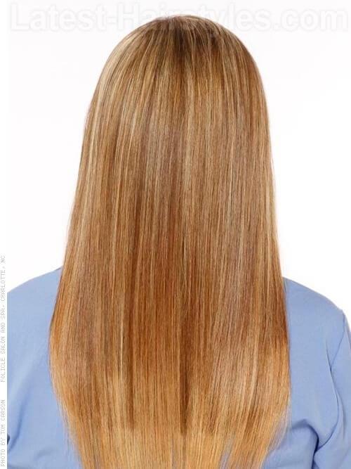Frisuren für glattes Haar
