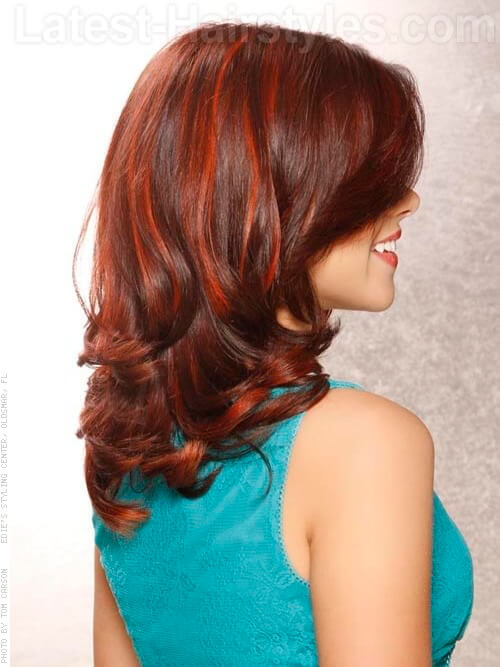 Super 11 Hot Red Highlights To Add To Your Hair Bucket List Short Hairstyles For Black Women Fulllsitofus