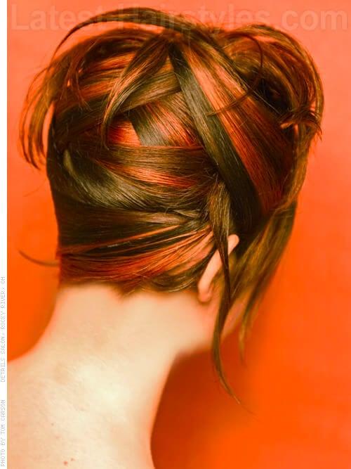 Sunset Hair Highlights