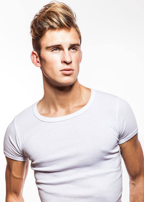 The Marcus Upswept Style for a Man