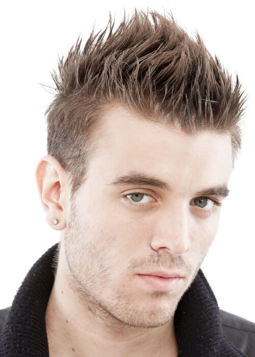 mens hair style and short