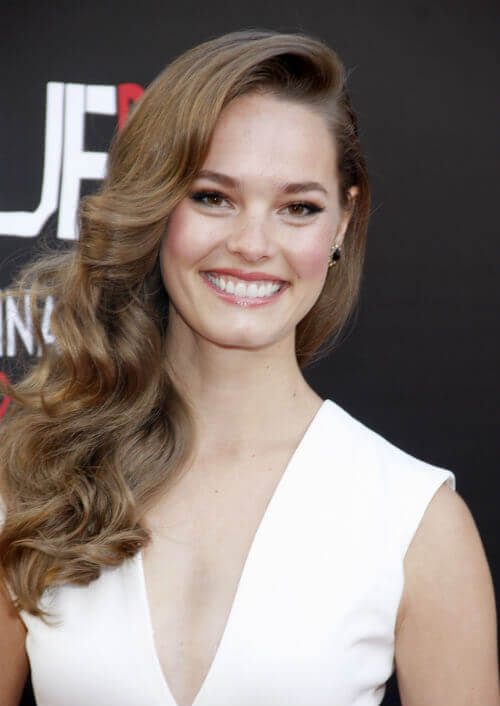 Bailey Noble Long Hairstyle with Soft Curls