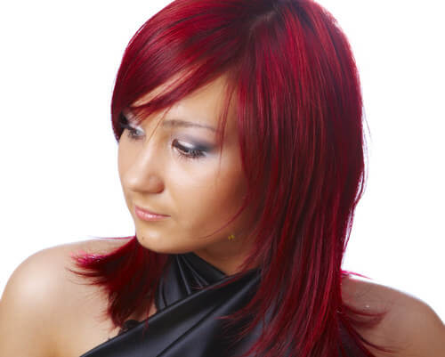 Cherry Red Hair Color Chart Images & Pictures - Becuo