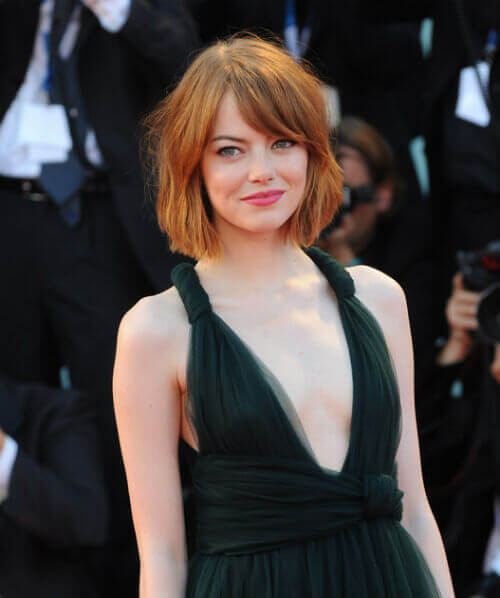 Emma Stone Bob Hairstyle