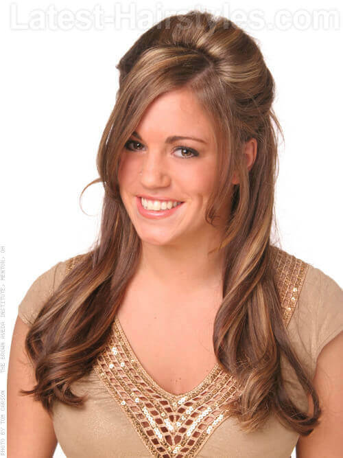 long hair style with layers