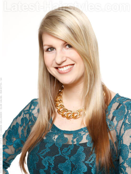 hairstyles for long naturally straight hair images