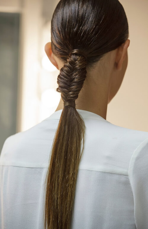 Fishtail Ponytail Braids