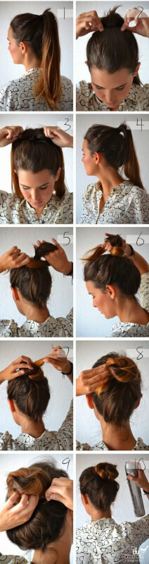 How To Create A Bun Knot