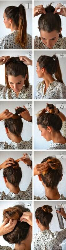 How To Create A Bun Knot