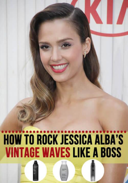 Jessica Alba hair