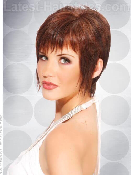how to add texture to a pixie cut