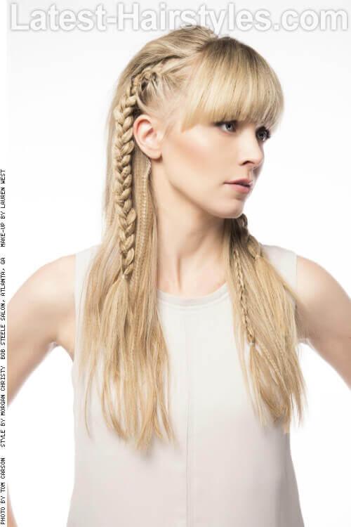 Pleasant 20 Hairstyles That39Ll Make You Want Long Hair With Bangs Short Hairstyles Gunalazisus