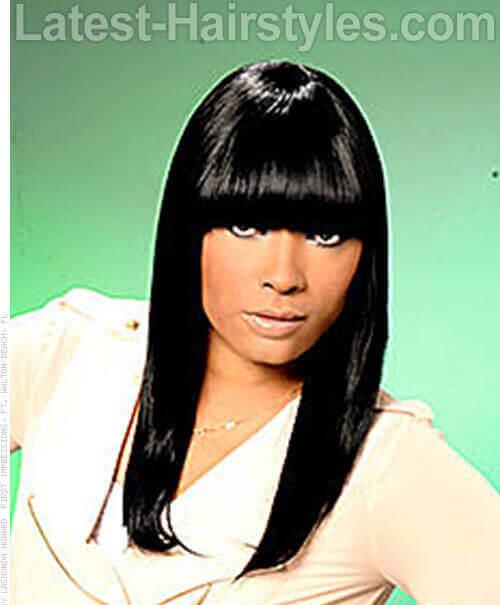 Admirable 20 Hairstyles That39Ll Make You Want Long Hair With Bangs Short Hairstyles Gunalazisus
