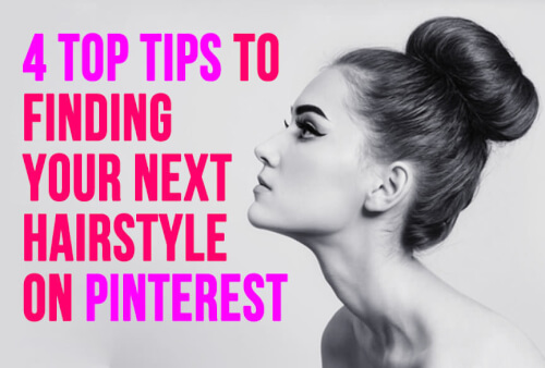 How to find hairstyles on Pinterest