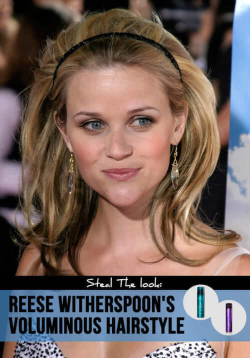 Reese Witherspoon voluminous hairstyles